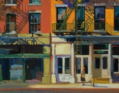 I first saw Francis Livingston's work at the Arcadia Gallery on Glorious Greene Street in New York. He describes the city light so perfectly.
