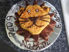 Gâteau d'anniversaire Lion - Recette de cuisine Marmiton : une recette