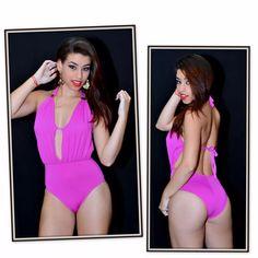 Maiô Miss Com Bojo Guarujá Biquínis Ref.14310 Cor Pink - R$ 69,90 em Mercado Livre