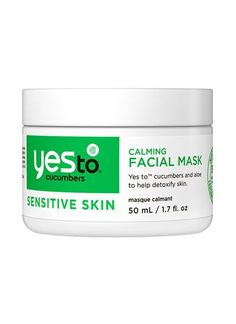 Yes to Cucumbers Calming Facial Mask - Yes To