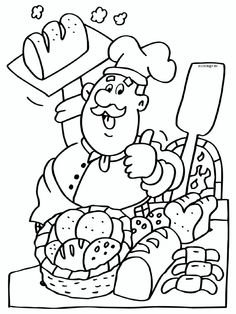 Kleurplaat Preschool Coloring Pages, Cute Coloring Pages, Coloring Pages For Kids, Coloring Sheets, Coloring Books, Kindergarten Jobs, Boy Printable, Teen Money, Art Drawings For Kids
