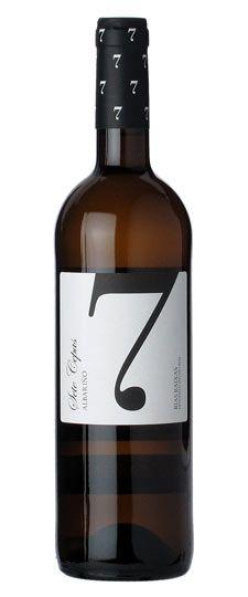 """label / wine / 2011 Carballal Albariño """"Sete Cepas"""" Rias Baixas #stilovino"""