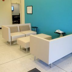 New Lobby Furniture In A Building At NASA.