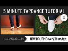 Tap Dance Tutorial - 12th video - 5 minutes - YouTube