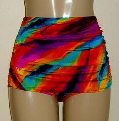 c464b74756 High waist skirt bottoms skirt swimwear pin up bikinis retro skirted  bikinis low legs women s ladies ruched gathered swim skirt low leg