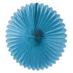 """14"""" Tissue Paper Medallion - Blue"""