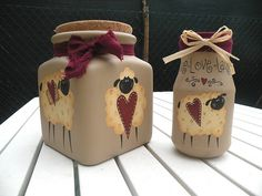 Kitchen set - sheep by countrykitty, via Flickr