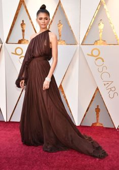 Zendaya attends the 90th Annual Academy Awards at the Dolby Theatre in Hollywood, CA - March 4, 2018