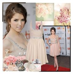 """Anna Kendrick"" by purplecherryblossom ❤ liked on Polyvore featuring Guide London, ANNA, L'Occitane, Notte by Marchesa, Dorothy Perkins, Christian Dior, Rodo, INC International Concepts, Jimmy Choo and Tocca"