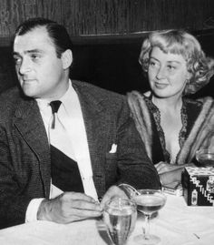 Joan Blondell and 3rd husband Michael Todd