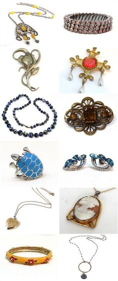 Coupon Pin10 - Here are some items from my vintage jewelry shop on etsy. | ECOCHIC VINTAGE JEWELRY | Pinterest | Jewelry Shop, Vintage Jewelry and Coupon