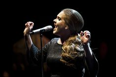 Photo Chad Batka, @chadbatka      Adele performs at The Beacon Theatre in New York, May 19, 2011