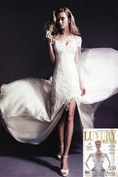 Jennifer Regan featured in Luxury Weddings Magazine 7th Annual Edition