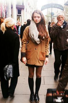 +/ London street style.