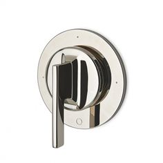 Formwork Three Way Diverter Valve Trim for Thermostatic System with Metal Lever Handle