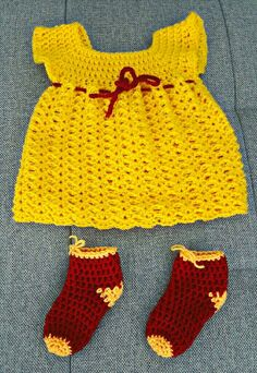 Ready for the Baby Shower 😍 #Soay #handmade #crochet #babydress