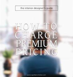Ultimate Interior Design Pricing Resource | Hannahu0027s | Pinterest | Interior  Design Services, Design Services And Interiors