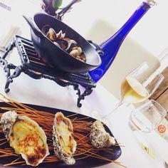 #PortHercule #Monaco #LaMaree #Seafood #Appetizers #Calms #Oysters by yo_choe from #Montecarlo #Monaco