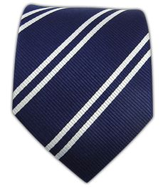 Double Stripe - Navy | Ties, Bow Ties, and Pocket Squares | The Tie Bar