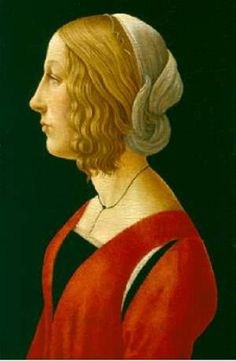 Raffaellino del Garbo (Florentine painter of the early Renaissance, 1466 or perhaps 1476–1524) Portrait of a Young Women 1485-90
