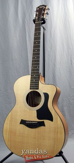 Taylor 114CE Grand Auditorium Cutaway Acoustic Electric Guitar
