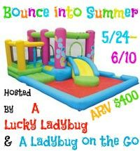 Giveaway | Enter to win a Playhouse Bouncers Little Sprout and All in one Bouncer, Slide and Pool for the kids, ARV $400.00 http://ohmyheartsiereviews.com/bounce-summer-event/