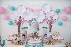 Kokeshi Themed Party | Cherry Blossom Themed party | Festa Kokeshi | Festa Flor de Cerejeira