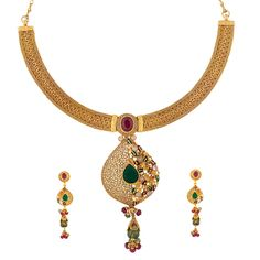 Prince Jewellery Golden Necklace - Product Code : 40-12A67599