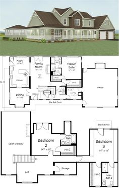 1000 images about floor plans on pinterest open floor plans two story homes and house plans - Dream homes house plans plan ...