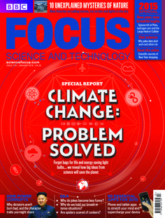 The January 2015 issue of BBC Focus Magazine is on sale now! Read about how science has come up with some big ideas to save the planet. #SAVETHEPLANET #BBCFOCUSMAGAZINE www.sciencefocus.com