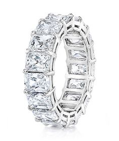 Radiant-Cut Diamond Eternity Band - Special Order