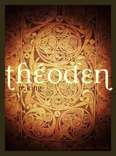 Baby Boy Name: Théoden. Meaning: King; Leader of People. Origin: J. Actually, it's origin is Old English, though it might have been constructed by Tolkien. Baby Boys, Baby Girl Names, Boy Names, Tolkien, Name Inspiration, Writing Inspiration, Southern Baby Names, Fantasy Names, Name List