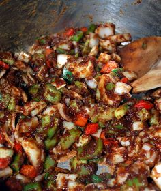 Gumbo | Gumbo-A Cajun Classic | Once A Chef Always a Chef Cajun Cooking, Cajun Food, Cajun Recipes, Gumbo Recipes, Kung Pao Chicken, Soul Food, Entrees, Seafood, Side Dishes