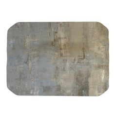 "CarolLynn Tice ""Overlooked"" Brown Gray Place Mat"