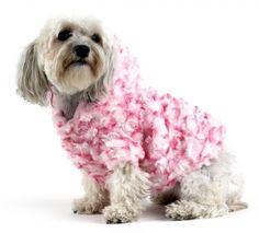 Plush & Soft dog jacket for those cold days!  $80.00