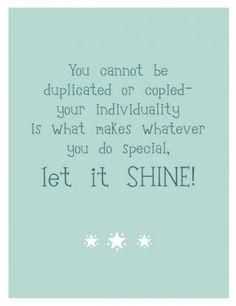Shine On..
