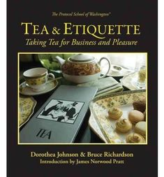 Tea  Etiquette Taking Tea for Business and Pleasure Hardback  Common * Want to know more, click on the image.