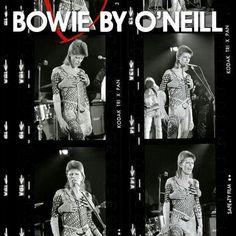 """""""Snapping pictures of scrawny limbs and toothy grins"""" Terry O Neill, Jean Genie, Station To Station, Aladdin Sane, The Thin White Duke, Kodak Film, Major Tom, Young Americans, Ziggy Stardust"""