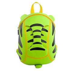 YAAGLE Kids Lovely Cute Cartoon 3D Tiger Waterproof Lightweight Backpack -- Click image to review more details. (This is an affiliate link) #ChildCarrierPacks