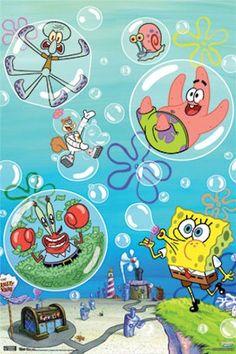 Spongebob Squarepants~Blowing Bubbles