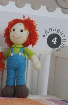 kızıl saçlı erkek bebek - Açıklamalı Modellerimiz
