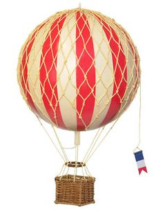Looking for Authentic Models Model Hot Air Balloon Small 5 Colours Available? Compare prices for Authentic Models Model Hot Air Balloon Small 5 Colours Available, find the best offer in hundreds of online stores! Balloon Toys, Paper Balloon, Red Balloon, Hot Air Balloon, Balloon Painting, Balloon Crafts, Air Ballon, Balloon Party, Deco Aviation