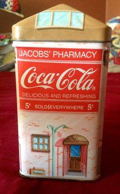 VINTAGE COCA-COLA JaCobs PHarMACY 1993 TiN