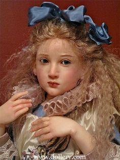 Jamie Williamson One of a Kind Doll Artist, Little Alice