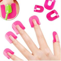 Some nail polish protectors because you're horrible at doing your own nails. You just are and it's okay. Amazon $5!