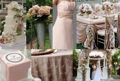 Dusty pink inspiration - just add lavender accents. :)