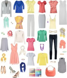 """Light Spring Wardrobe"