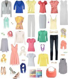 """""""Light Spring Wardrobe"""