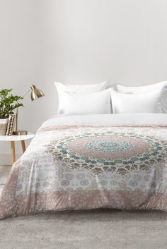 Monika Strigel TRIP TO HAPPINESS ROSE Comforter | DENY Designs Home Accessories
