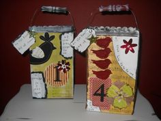 Hometalk Crafternoons: cardboard recycled gift packages